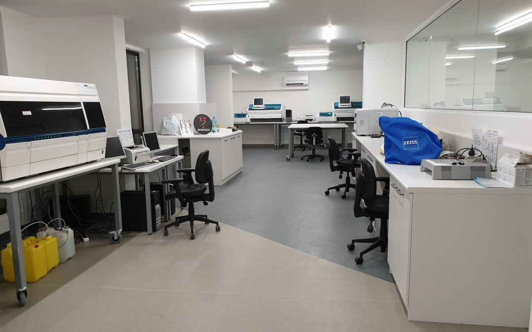 Нова централна лаборатория в Пловдив